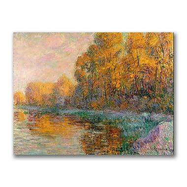 Trademark Fine Art 'A River in Autumn' 35