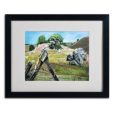 Trademark Fine Art 'Nicasio Fence Post' 16