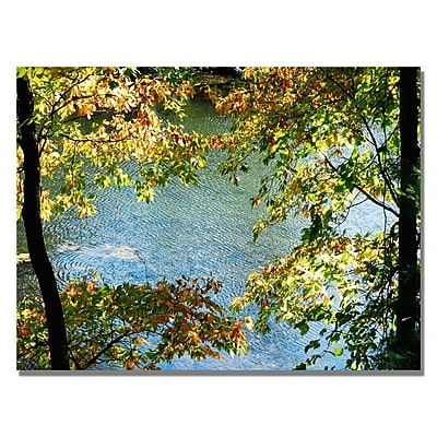 Trademark Fine Art 'Early Fall Along the River' 30