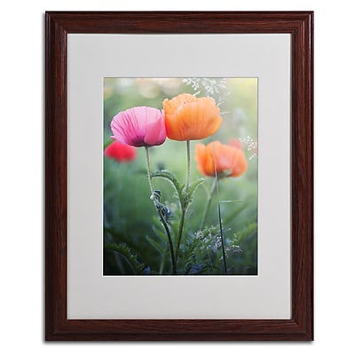 "Trademark Fine Art 'Love Me Again' 16"" x 20"" Wood Frame Art"