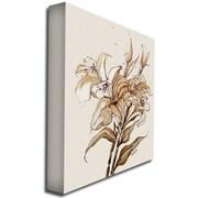 "Trademark Fine Art 'Lily' 18"" x 24"" Canvas Art"