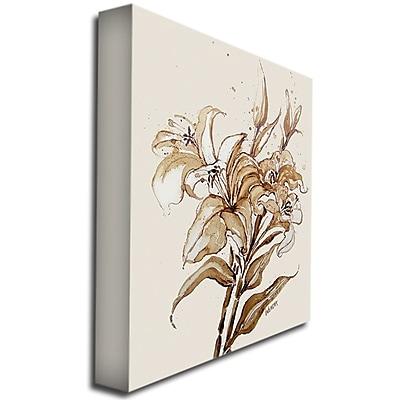 Trademark Fine Art 'Lily' 18