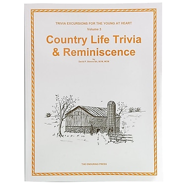 S&S® Country Life Trivia and Reminiscence Book Volume 3