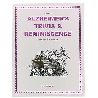 S&S® Alzheimer's Trivia & Reminiscence Book Volume 4