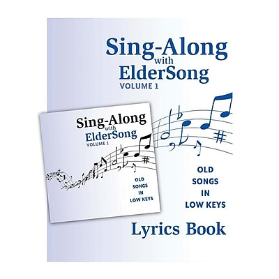 Eldersong® Sing-Along With Eldersong CD and Lyrics Book Volume 1