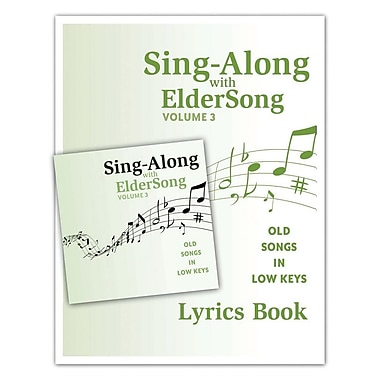 Eldersong® Sing-Along With Eldersong CD and Lyrics Book Volume 3