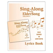 Eldersong® Sing-Along With Eldersong CD and Lyrics Book Volume 4