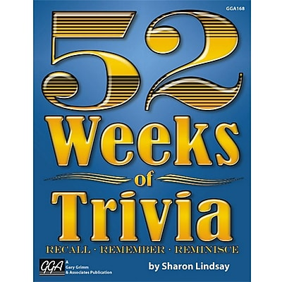 Gary Grimm 52 Weeks of Trivia Book