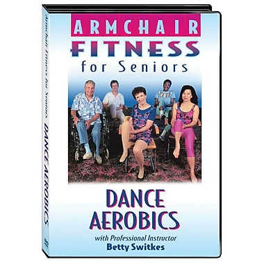 S&S® Armchair Fitness Dance Aerobics DVD For Seniors