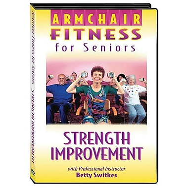 S&S® Armchair Fitness Strength Improvement DVD For Seniors