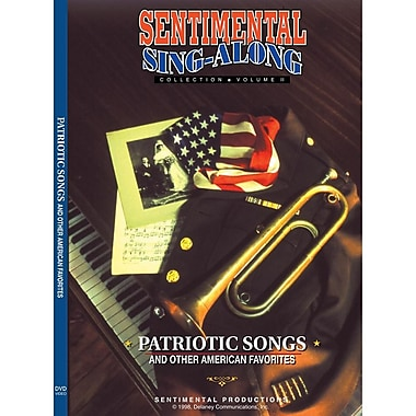 Sentimental Productions Patriotic Songs & Other American Favorites Sing-Along DVD