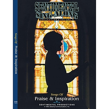 Sentimental Productions Songs of Praise & Inspiration Sing-Along DVD
