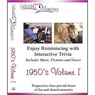 Unlock the Memories DVD, Volume 1 1950s