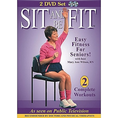 Total Content Sit Up and Be Fit DVD Set, 2/Pack