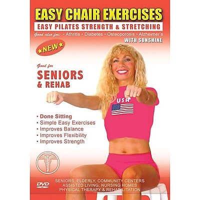 S&S® Pilates and Calisthenics Easy Chair EXercises With Sunshine DVD