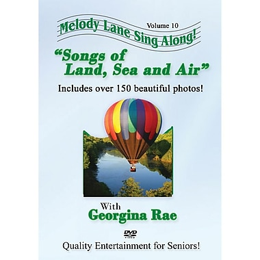S&S® Songs of Land Sea and Air Sing-Along DVD