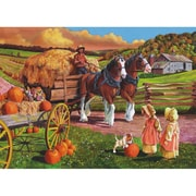 "Outset Media® 24"" X 18"" Easy Handling Puzzle, Hay Wagon"