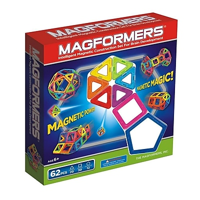 Magformers 62 Piece EXtreme Magnetic Building Set