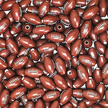 S&S® Football Beads Bag, 600/Bag