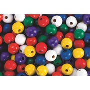 S&S® Large Wooden Beads Bag, 1000/Bag