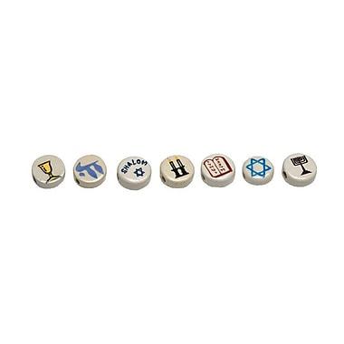 S&S® Judaic Symbols Bead Assortment, 49/Bag