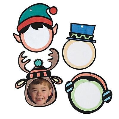 Craft EXpress Holiday Velvet Frame Craft Kit, 48/Pack