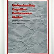 Claudia Allen Understanding Cognitive Performance Modes Book