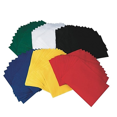 S&S FA3443 Assorted Felt Sheets, 12