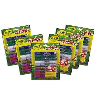Crayola Glitter Glue 18.9 oz., 54/Pack