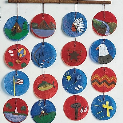 S&S® Philippine Wind Chimes Craft Kit, 25/Pack