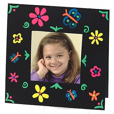 Geeperz™ Color Splash!® 3-D Brite Frames Craft Kit, 24/Pack