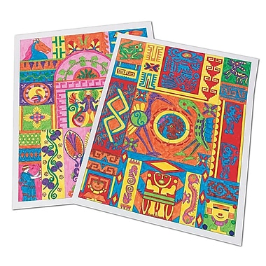 Geeperz™ Ancient Culture Design Posters Craft Kit, 25/Pack
