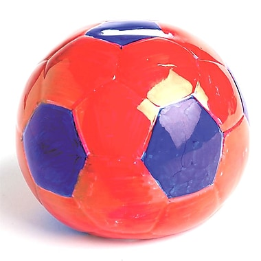 Geeperz™ Soccer Ball Bank Craft Kit, 12/Pack