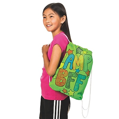 Geeperz™ Be Green Backpack Craft Kit, 12/Pack