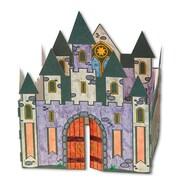 Geeperz™ 3D Velvet Castle Craft Kit, 12/Pack