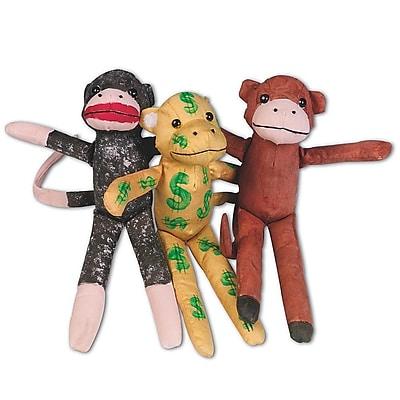 Geeperz™ Fun Monkey Craft Kit, 12/Pack