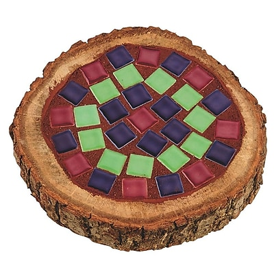 Geeperz™ Mosaic Woodland Coaster Craft Kit, 10/Pack