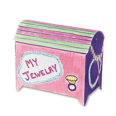 S&S® Treasure Chest Craft Kit, 48/Pack