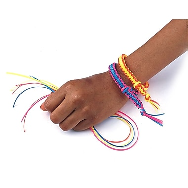 Geeperz™ Neon Buddy Bracelets Craft Kit, 100/Pack