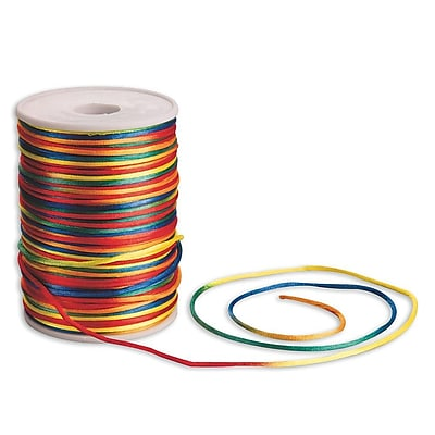 S&S® 144 Yard Rattail Cord, Rainbow Ombre