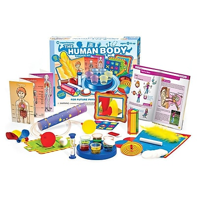 Thames & Kosmos Little Labs The Human Body Science Kit 12438