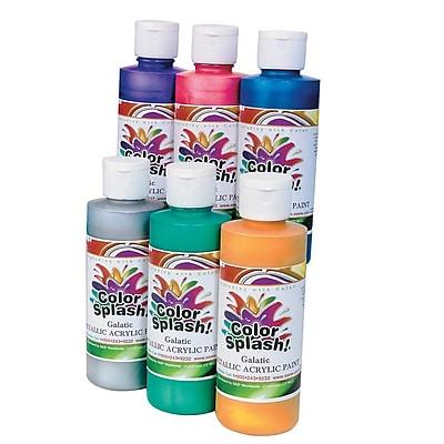 Color Splash® 8 oz. Metallic Acrylic Paint Set