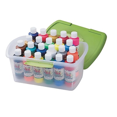 S&S® Color Splash® 8 oz. Acrylic Paint In A Tub
