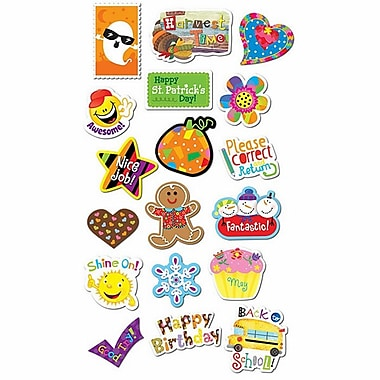 Creative Teaching Press® Seasons and Holidays Stickers Jumbo Pack