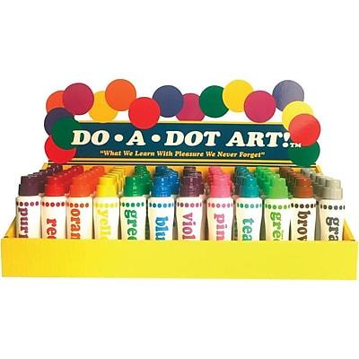 Do-A-Dot Paint Marker, Assorted, 72/Pack