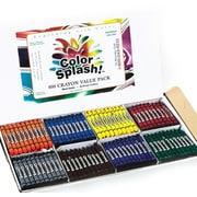Color Splash® Crayons, 800/BoX