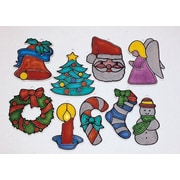 """S&S® 4"""" Small Holiday Stain-A-Frames"""