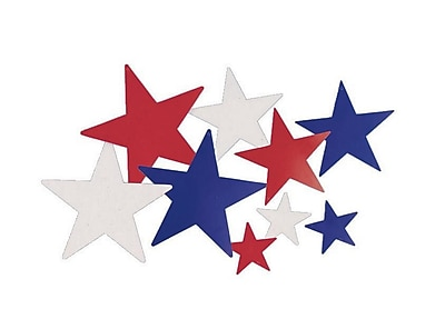 S&S® Liberty Star Cutouts, 6/Pack