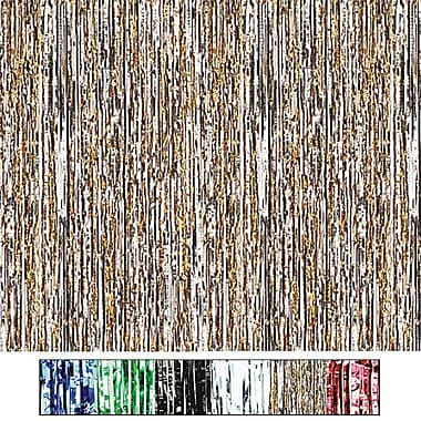 S&S® 8' X 3' Metallic Party Curtains, Green