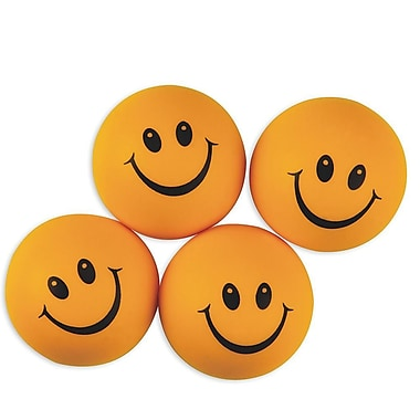 S&S® Smile Face Stress Balls, 24/Pack
